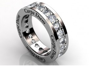 ring carpe diem